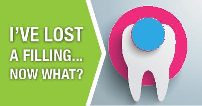 i lost a dental filling