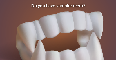 how to fix vampire teeth