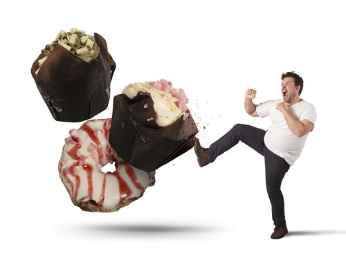 kicking cupcakes