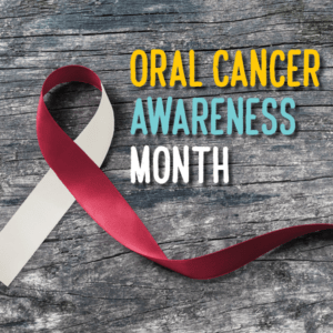 Oral Cancer Awareness Ribbon